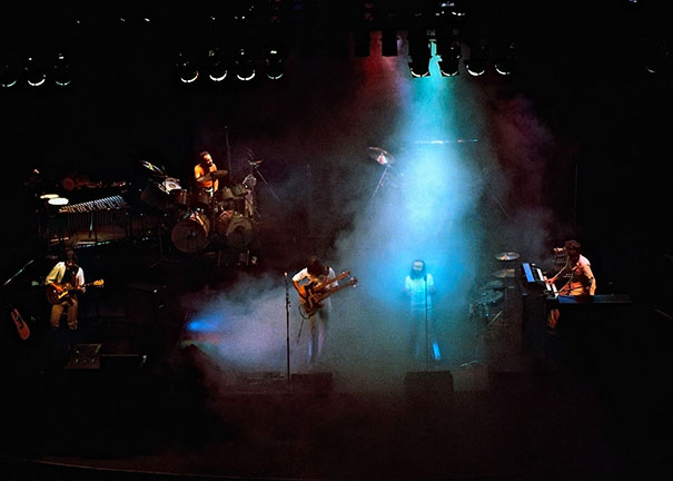 Genesis on tour in UK, Jan 1977