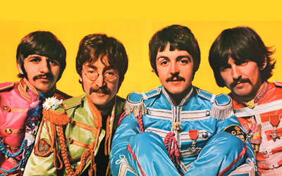 "The Beatles ""Sgt. Pepper's Lonely Heart's Club Band."""